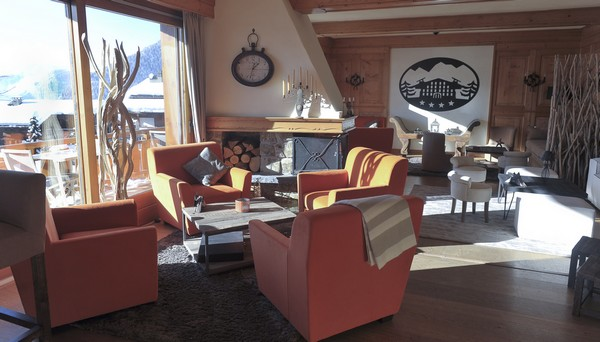 hotel luxe verbier chalet flore
